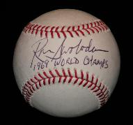 Signed Baseball - Ron Swoboda